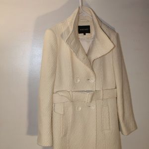 Nine West light cream winter coat